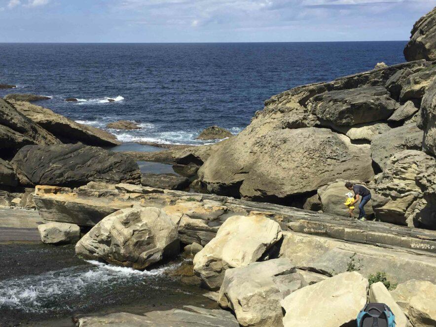 Jaizkibel_sentier du littoral enfant-2